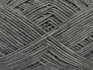 Fiber Content 67% Cotton, 33% Polyamide, Brand Ice Yarns, Grey Melange, Yarn Thickness 2 Fine  Sport, Baby, fnt2-67358