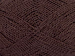 Fiber Content 67% Cotton, 33% Polyamide, Brand Ice Yarns, Dark Maroon, Yarn Thickness 2 Fine  Sport, Baby, fnt2-67371