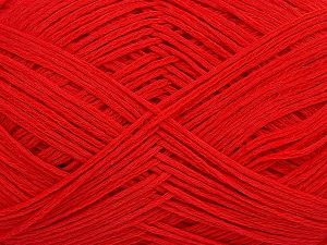 Fiber Content 67% Cotton, 33% Polyamide, Red, Brand Ice Yarns, Yarn Thickness 2 Fine  Sport, Baby, fnt2-67374