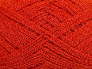 Fiber Content 67% Cotton, 33% Polyamide, Brand Ice Yarns, Dark Orange, Yarn Thickness 2 Fine  Sport, Baby, fnt2-67375