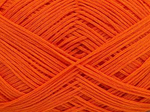 Fiber Content 67% Cotton, 33% Polyamide, Orange, Brand Ice Yarns, Yarn Thickness 2 Fine  Sport, Baby, fnt2-67376