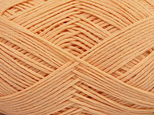 Fiber Content 67% Cotton, 33% Polyamide, Light Salmon, Brand Ice Yarns, Yarn Thickness 2 Fine  Sport, Baby, fnt2-67379