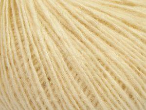 Contenido de fibra 66% Lana Merino, 34% El algodón orgánico, Brand Ice Yarns, Cream, Yarn Thickness 3 Light  DK, Light, Worsted, fnt2-67382