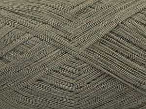 Fiber Content 85% Viscose, 15% Cashmere, Light Khaki, Brand Ice Yarns, fnt2-67387