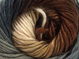 Fiber Content 100% Premium Acrylic, Brand Ice Yarns, Grey Shades, Brown Shades, fnt2-67390