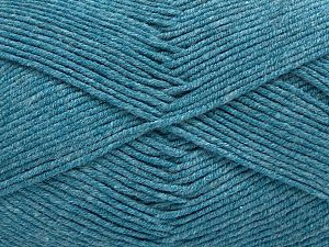 Fiber Content 50% Cotton, 50% Acrylic, Turquoise, Brand Ice Yarns, Yarn Thickness 2 Fine  Sport, Baby, fnt2-67437
