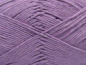 Περιεχόμενο ίνας 100% Βαμβάκι, Light Lilac, Brand Ice Yarns, fnt2-67449