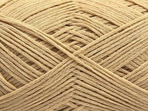Fiber Content 67% Cotton, 33% Polyamide, Brand Ice Yarns, Dark Cream, Yarn Thickness 2 Fine  Sport, Baby, fnt2-67457