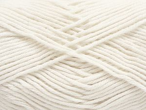 There is some tone difference between the yarns in the lot. Fiber Content 50% Cotton, 50% Bamboo, White, Brand Ice Yarns, fnt2-67463