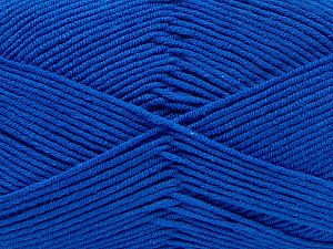 Fiber Content 50% Cotton, 50% Acrylic, Saxe Blue, Brand Ice Yarns, fnt2-67465