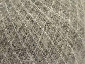 Fiber Content 36% Polyamide, 31% Extrafine Merino Wool, 30% Baby Alpaca, 3% Elastan, Light Grey, Brand Ice Yarns, fnt2-67473