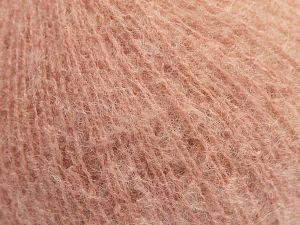 Fiber Content 36% Polyamide, 31% Extrafine Merino Wool, 30% Baby Alpaca, 3% Elastan, Pink, Brand Ice Yarns, fnt2-67481