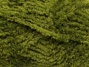 Fiber Content 100% Micro Fiber, Military Green, Brand Ice Yarns, fnt2-67506