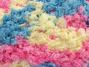 Fiber Content 100% Micro Fiber, Pink, Light Yellow, Brand Ice Yarns, Blue, fnt2-67566
