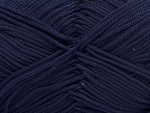 Width is 2-3 mm Fiber Content 100% Polyester, Brand Ice Yarns, Dark Purple, fnt2-67575