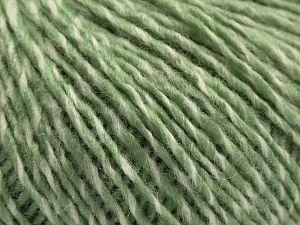 Fiberinnehåll 80% Akryl, 6% Polyester, 14% Ull, Light Green, Brand Ice Yarns, Cream, fnt2-67589
