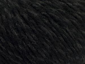 Fiberinnehåll 70% Akryl, 30% Ull, Brand Ice Yarns, Grey, Black, fnt2-67590