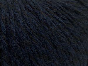 Fiberinnehåll 70% Akryl, 30% Ull, Navy, Brand Ice Yarns, Black, fnt2-67591
