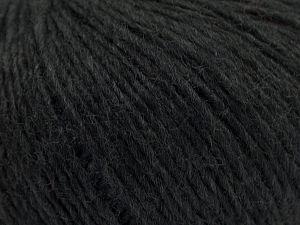 Fiberinnehåll 70% Akryl, 30% Ull, Brand Ice Yarns, Dark Grey, fnt2-67596