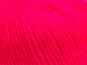Fiber Content 70% Acrylic, 30% Wool, Neon Pink, Brand Ice Yarns, fnt2-67598