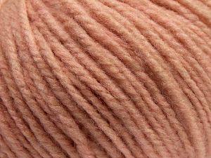 Fiberinnehåll 90% Akryl, 10% Ull, Light Salmon, Brand Ice Yarns, fnt2-67605