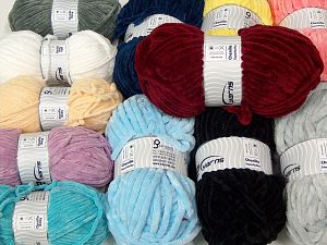 Chenille Baby - Chenille Superbulky In this list; you see most recent 50 mixed lots. <br>