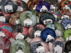 Self Striping Yarns In this list; you see most recent 50 mixed lots. <br> To see all <a href=&/mixed_lots/o/4#list&>CLICK HERE</a> (Old ones have much better deals)<hr> Brand Ice Yarns, fnt2-67714