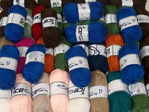 Elite Baby Yarns In this list; you see most recent 50 mixed lots. <br> To see all <a href=&/mixed_lots/o/4#list&>CLICK HERE</a> (Old ones have much better deals)<hr> Fiber Content 100% Antipilling Acrylic, Brand Ice Yarns, fnt2-67726