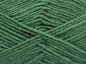 Fiber Content 60% Merino Wool, 40% Acrylic, Brand Ice Yarns, Green, fnt2-67789