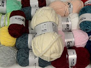 Chenille Types In this list; you see most recent 50 mixed lots. <br> To see all <a href=&/mixed_lots/o/4#list&>CLICK HERE</a> (Old ones have much better deals)<hr> Fiber Content 100% Micro Fiber, Brand Ice Yarns, fnt2-67816