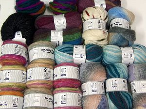 Lux Winter Yarns In this list; you see most recent 50 mixed lots. <br> To see all <a href=&/mixed_lots/o/4#list&>CLICK HERE</a> (Old ones have much better deals)<hr> Brand Ice Yarns, fnt2-67819