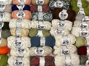 Fancy Yarns In this list; you see most recent 50 mixed lots. <br> To see all <a href=&/mixed_lots/o/4#list&>CLICK HERE</a> (Old ones have much better deals)<hr> Brand Ice Yarns, fnt2-67822