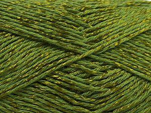 Fiber Content 67% Cotton, 33% Viscose, Jungle Green, Brand Ice Yarns, fnt2-67852