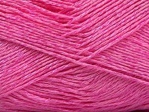 Fiber Content 67% Cotton, 33% Viscose, Pink, Brand Ice Yarns, fnt2-67861