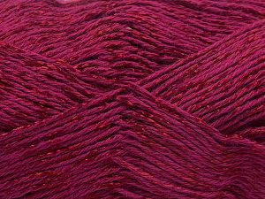 Fiber Content 67% Cotton, 33% Viscose, Brand Ice Yarns, Burgundy, fnt2-67863