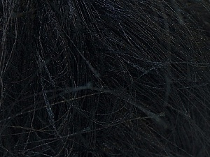 Fiber Content 100% Polyester, Brand Ice Yarns, Black, Yarn Thickness 6 SuperBulky  Bulky, Roving, fnt2-7711