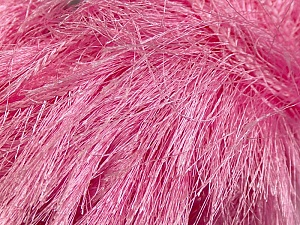 Fiber Content 100% Polyester, Pink, Brand Ice Yarns, Yarn Thickness 6 SuperBulky  Bulky, Roving, fnt2-13273