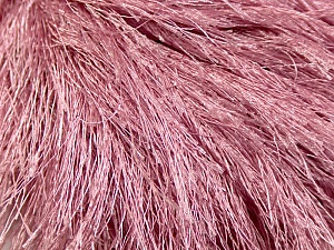 Fiber Content 100% Polyester, Rose Pink, Brand Ice Yarns, Yarn Thickness 6 SuperBulky  Bulky, Roving, fnt2-13277