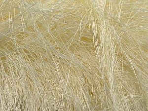 Fiber Content 100% Polyester, Brand Ice Yarns, Cream, Yarn Thickness 6 SuperBulky  Bulky, Roving, fnt2-16488