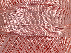 Fiber Content 100% Micro Fiber, Brand YarnArt, Light Pink, Yarn Thickness 0 Lace  Fingering Crochet Thread, fnt2-17316
