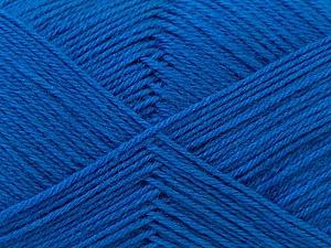Fiber Content 60% Merino Wool, 40% Acrylic, Brand Ice Yarns, Blue, Yarn Thickness 2 Fine  Sport, Baby, fnt2-21100