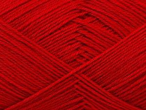 Fiber Content 60% Merino Wool, 40% Acrylic, Red, Brand Ice Yarns, Yarn Thickness 2 Fine  Sport, Baby, fnt2-21108