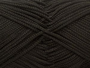 Width is 2-3 mm Fiber Content 100% Polyester, Brand Ice Yarns, Black, fnt2-21637