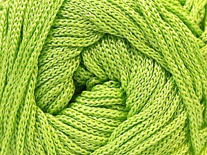 Width is 3 mm Fiber Content 100% Polyester, Brand Ice Yarns, Green, fnt2-21643