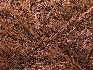 Fiber Content 100% Polyester, Brand Ice Yarns, Brown, Yarn Thickness 5 Bulky  Chunky, Craft, Rug, fnt2-22707
