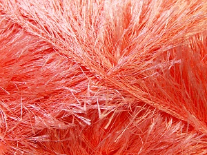 Fiber Content 100% Polyester, Light Salmon, Brand Ice Yarns, Yarn Thickness 5 Bulky  Chunky, Craft, Rug, fnt2-22713