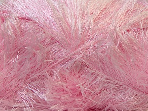 Fiber Content 100% Polyester, Brand Ice Yarns, Baby Pink, Yarn Thickness 5 Bulky  Chunky, Craft, Rug, fnt2-22719