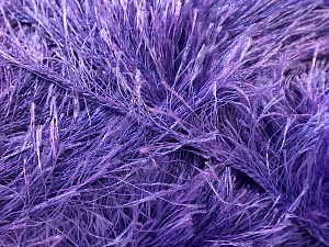 Fiber Content 100% Polyester, Lavender, Brand Ice Yarns, Yarn Thickness 5 Bulky  Chunky, Craft, Rug, fnt2-22729