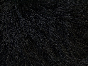 Fiber Content 100% Polyester, Brand Ice Yarns, Black, Yarn Thickness 5 Bulky  Chunky, Craft, Rug, fnt2-22743