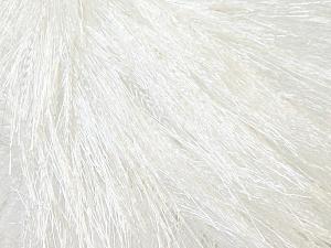 Fiberinnehåll 100% Polyester, Optical White, Brand Ice Yarns, Yarn Thickness 5 Bulky  Chunky, Craft, Rug, fnt2-22744